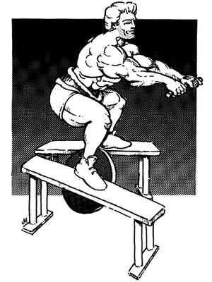 Execução do agachamento com Dip belt