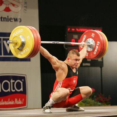 agachamento olímpico flexível