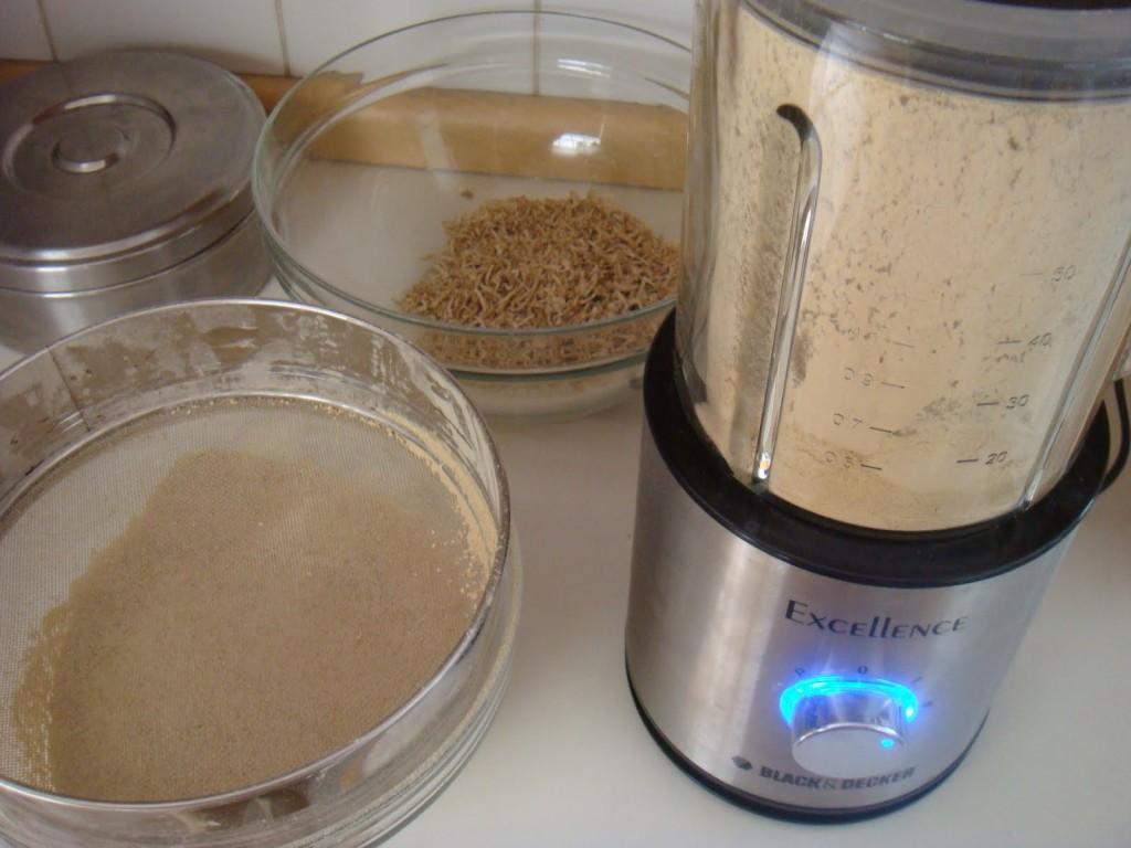 farinha de batata doce passo 6