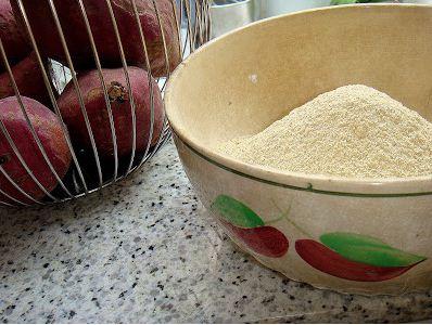 farinha de batata doce