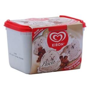 sorvete flocos kibon